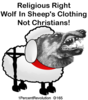 165 Religious Right Wolf  Image