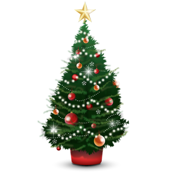 Christmas Tree Free Images At Clker Com Vector Clip