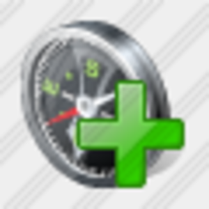 Icon Compass Add Image