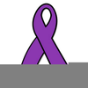 Domestic Violence Ribbons Clipart Image
