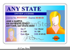 Free Drivers License Clipart Image