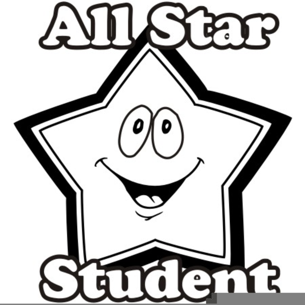 star student clipart free images at clker com vector clip art rh clker com Students Reading Clip Art star student of the week clipart