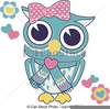 Baby Girl Owl Clipart Image