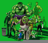 Famous Green Characters Image