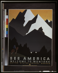 See America Welcome To Montana / M. Weitzman. Image