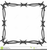 Barbed Wire Clipart Borders Image