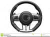 Free Car Steering Wheel Clipart Image