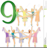 Dancing And Music Clipart Image