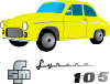 Yellow Car Vehicle Clip Art
