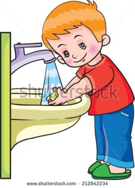 Wash hands clip art