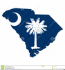 South Carolina Flag Clipart Image