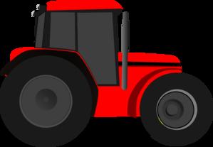 red tractor clip art at clker com vector clip art online royalty rh clker com red tractor clipart free farm tractor clipart free