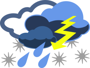 Inclement Weather Clip Art