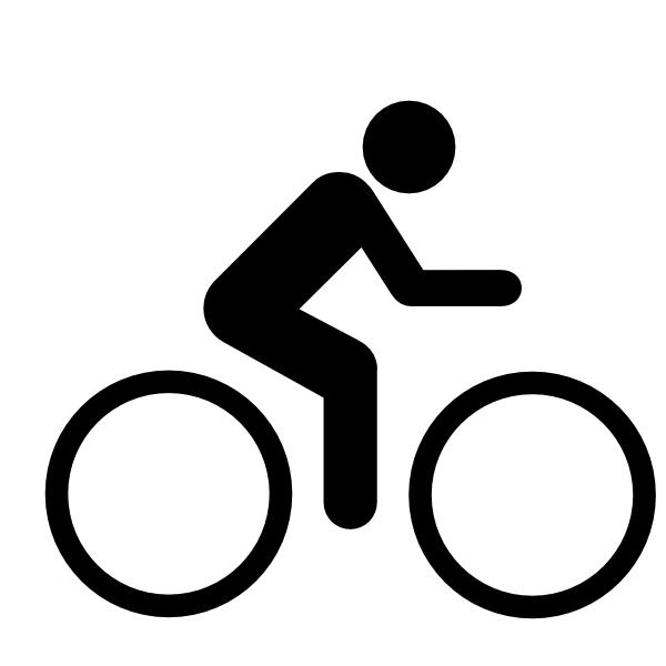 black cyclists clip art at clker com vector clip art online rh clker com clipart cyclist images female cyclist clipart