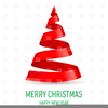 Royalty Free Christmas Tree Clipart Image