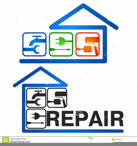 House Renovation Clipart Image