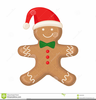 Ginger Bread Man Clipart Image