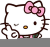 Bad Kitty Clipart Image
