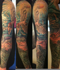 Icarus Sleeve Tattoo Image