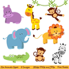 Forest Animal Clipart Image