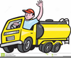 Clipart Oil Truck Driver Image
