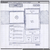 Wireframe Template Sketch Image