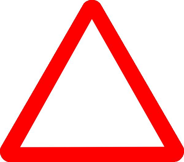 Red Warning Triangle Clip Art at Clker.com - vector clip ...