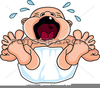 Woman Screaming Clipart Image