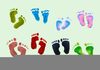 Free Baby Shoe Clipart Image