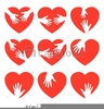 Hands Holding A Heart Clipart Image