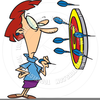 Animated Darts Clipart Image