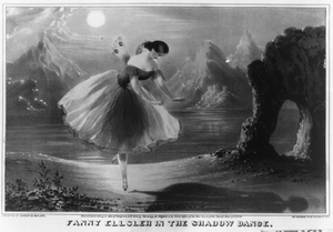 Fanny Ellsler In The Shadow Dance Image