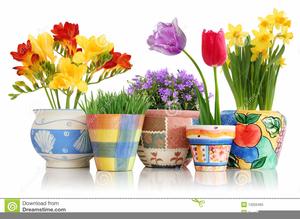 Clipart Pots De Fleurs Free Images At Clker Com Vector Clip Art