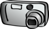 Compact Digital Camera Clip Art