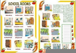 School Places Clipart Image