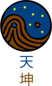 Heaven Earth Chinese Symbol Clip Art