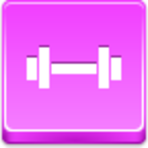 Free Pink Button Barbell Image