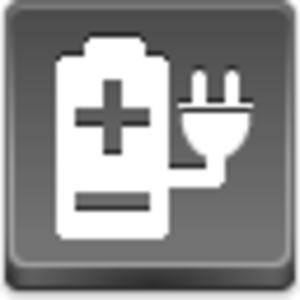 Free Grey Button Icons Electric Power Image