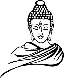 gautam buddha clipart free images at clker com vector clip art rh clker com buddha clipart png buddha clipart png