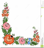 Free Floral Frames And Corner Clipart Image