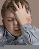 Frustrated Kid Face Image