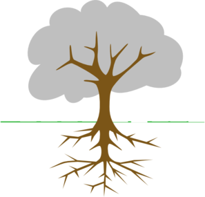 tree with roots clip art at clker com vector clip art online rh clker com clipart tree with roots outline clipart tree with roots and leaves