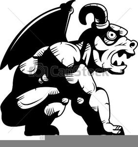 gargoyle clipart free free images at clker com vector clip art rh clker com Gargoyle Tattoo Designs Gargoyle Drawings Black and White