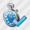 Icon Stop Watch Ok Image