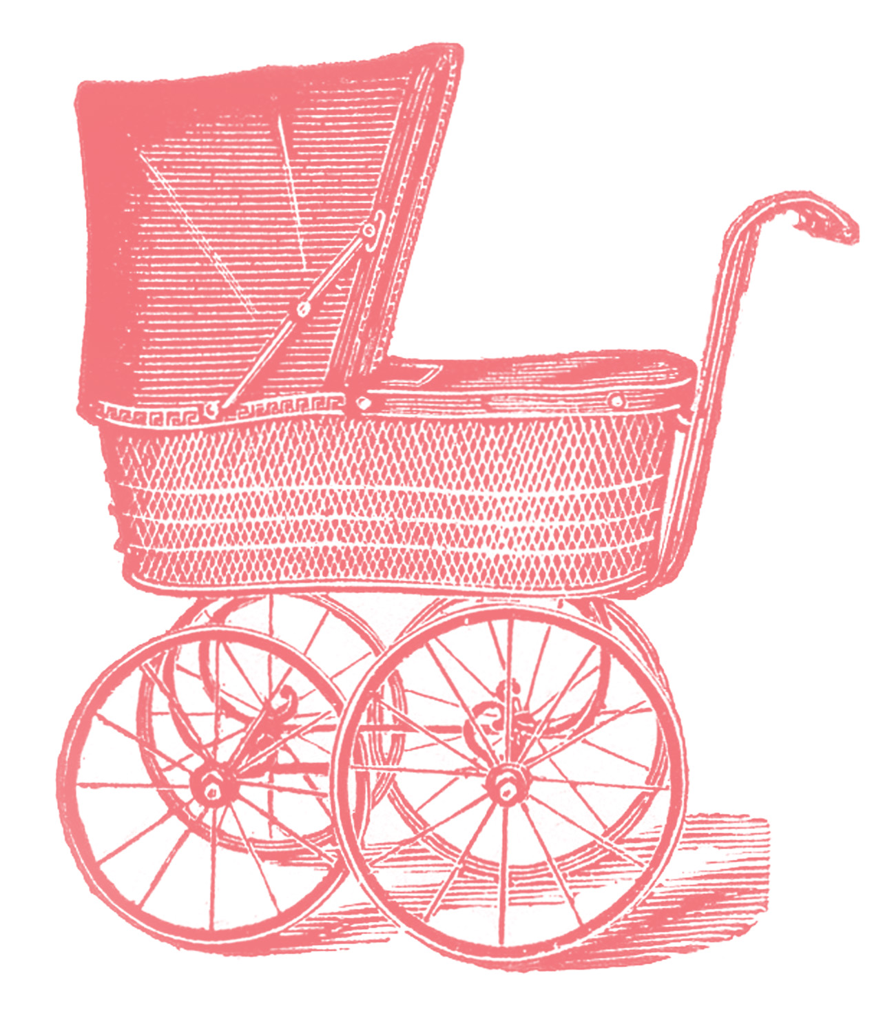 82e691143 Baby Carriage Vintage Image Graphicsfairypk
