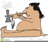 Indian Tomahawk Clipart Image