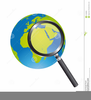 Magnifying Glass Clipart Black White Image