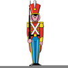 Free Christmas Toy Soldier Clipart Image