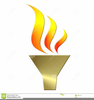 Olympic Torch Clipart Free Image