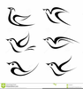 Free Clipart Birds Black And White Image